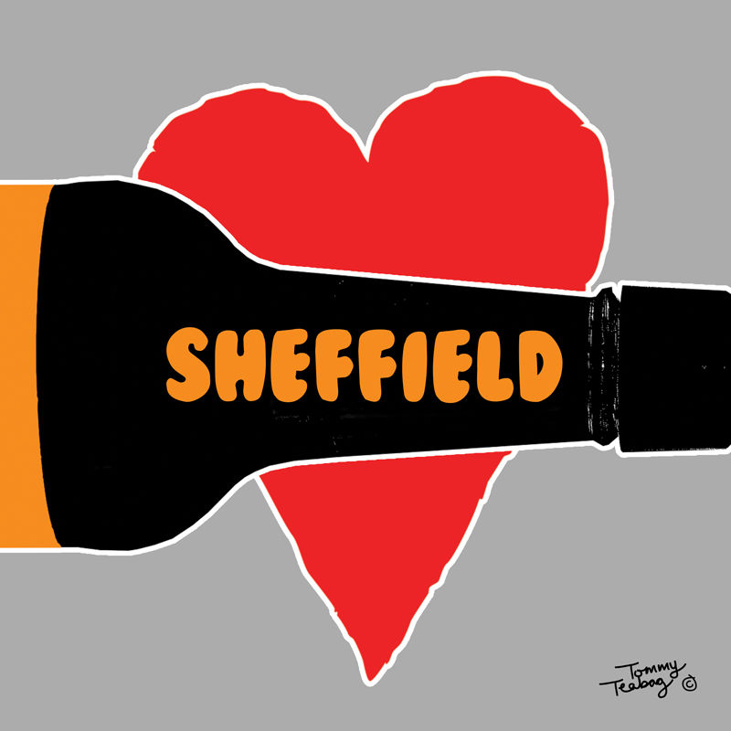 Tommy Teabag Sheffield Rough Heart